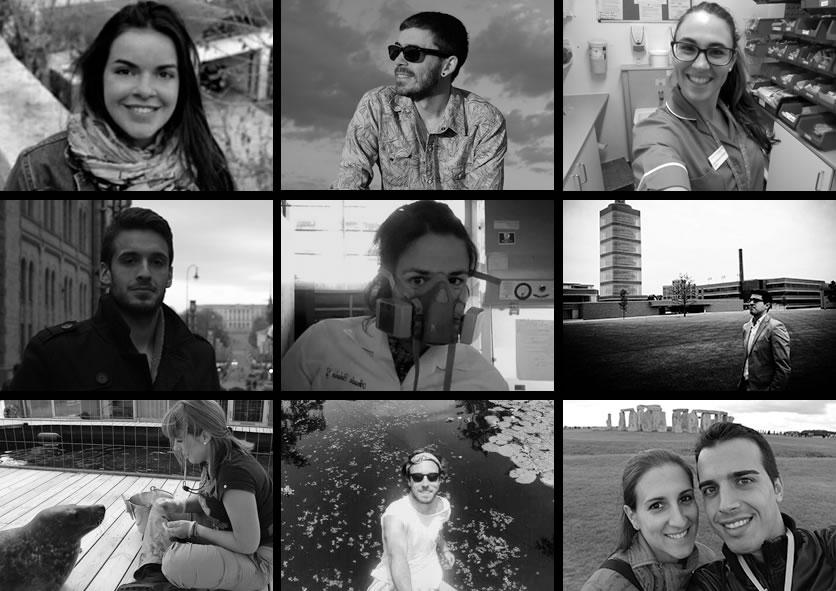 100 retratos de la emigración juvenil española