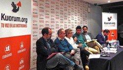 Imagen del debate organizado por Kuorum. Foto: Paola Bernal/porCausa.