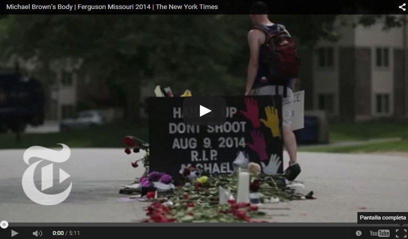 Captura del vídeo de Youtube del New York Times - porCausa