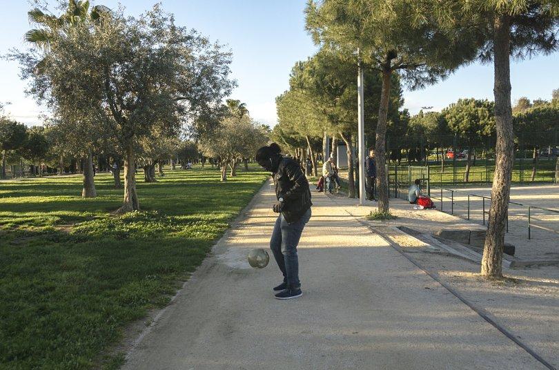 Maiga Madrid 4 Una llamada del Rayo Vallecano podría asentar su futuro en Madrid. Foto / LAURA TÁRREGA