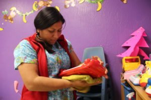 Trabajadoras domésticas. Foto / MARCOS MARTÍNEZ