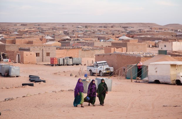 Campamento de refugiados saharauis, un no lugar. Foto / JAVI JULIO / RNW.org CC BY-SA