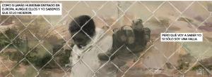 Valla de Melilla en cómic
