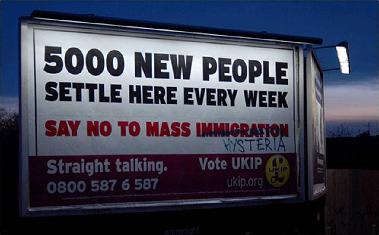 Resultados electorales y el discurso antimigratorio en Reino Unido. Franquicia Antimigración