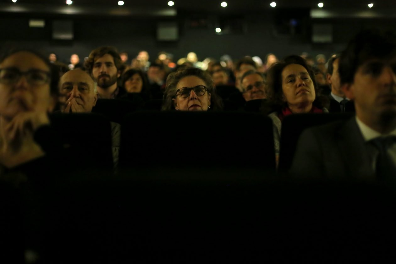 Premiere de la película 'Marea humana' organizada por la Fundación porCausa. Foto / Natalia Diez