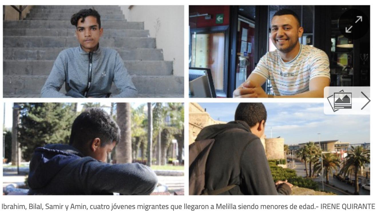 PorCausa y diario Público cuentan algunas de las historias de menores migrantes, chavales que llegan solos a España y periplo por el que atraviesan.