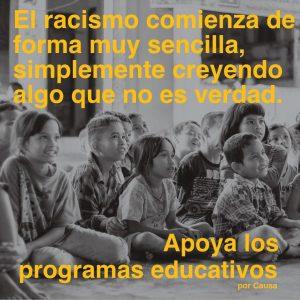 Educación portada porCausa